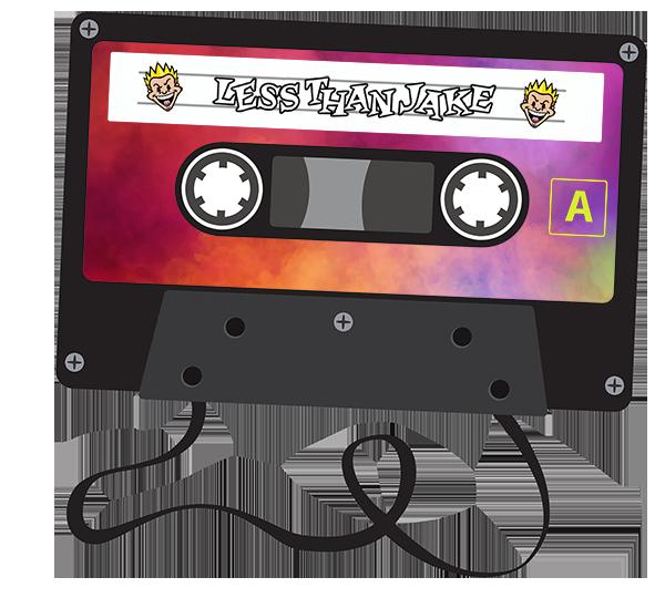 Less Than Jake Cassette